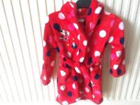 Minnie Dressing Gown 2-3yrs