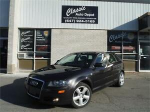 2006 Audi A3 w/Premium Pkg**LEATHER**DRIVES GREAT**