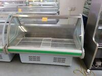 1.5 Metre wide Serve Over Display Fridge For Fish AST145
