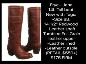 WARDROBE SALE! - BOOTS - SEE PHOTOS FOR MORE INFO
