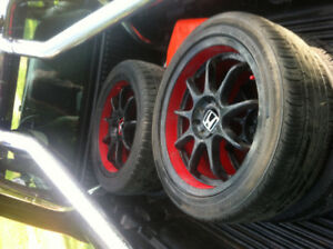 Honda civic rims multibolt