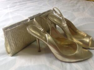 Aldo shoes size 7 and clutch. Both for $35
