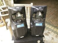 2x Mad DJ 305HP Scanners Spares or Repairs with Flight Case