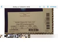 Bros tickets for sale x 2 Saturday 19th August