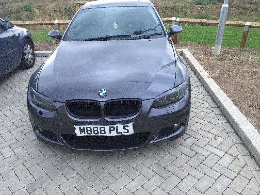 Cheap quick sale bmw 3 series m sport coupe dark gray - Bmw 3 series m sport coupe ...