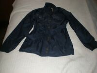 PAULS BOUTIQUE NAVY JACKET FOR SALE.