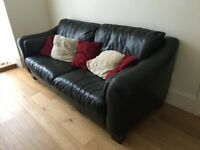 Big Black Sofa