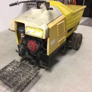 Wacker concrete buggy