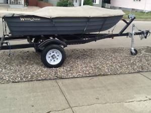 Fishing Boat & Motor