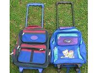 Child's Rolling Rucksacks