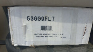 MUSTANG EXHAUST AFTERMARKET NEW IN BOX
