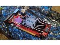 Asus HD5450 AMD Radeon Graphics Card