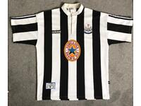 Authentic 1996/97 Newcastle united home Jersey XL