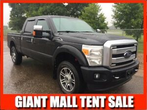2014 F350 SuperCrew 4x4 PLATINUM   **LEATHER-NAV-SUNROOF**
