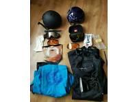 Snow boarding gear