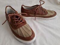 Ralph Lauren POLO Parkstone Brown Leather Low Shoe