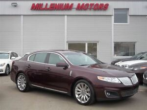 2011 Lincoln MKS ECOBOOST AWD / NAVI/ B.CAM/ LEATHER/ SUNROOF