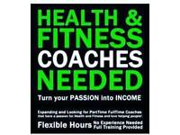 Health And wellness coaches needed.