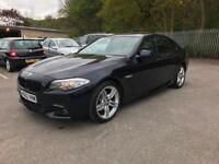 2012 62REG BMW 520d AUTO M SPORT+NO DEPOSIT FINANC £260+CAR PRICE IS £12.690