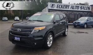 2015 Ford Explorer Limited/ 3RD ROW,/LEATHER/PANARAMIC SUNROOF