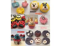 Cakes & Cupcakes for All Occasions - Birthdays - Weddings - Party - Baby Shower - Fathers Day & More
