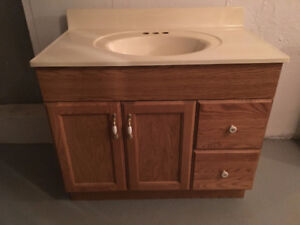 Bathroom Vanity with Medicine Cabinet