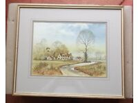 Andrew Findlay Framed Watercolour