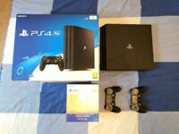 Sony Playstation 4 Pro 1TB with Extra DualShock 4 Controller