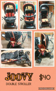 JOOVY Sit N' Stand Double Stroller