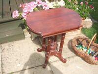 FINE ORNATE VICTORIAN SIDE TABLE