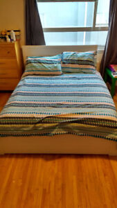 Moving Sale: Double Bed Frame and Mattress