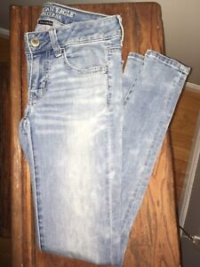 AE Super Low Rise Jegging Size 2