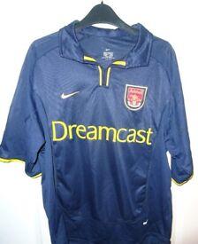 Arsenal 2000-2003 Third away Nike football shirt #2 Dixon (size M)