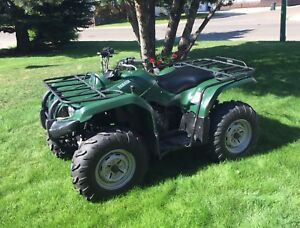 For sale.  08 350 Yamaha Grizzly 4x4 quad