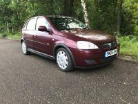 Vauxhall Corsa 1.2 4 door low miles