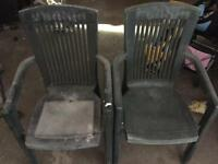 Patio chairs - 2