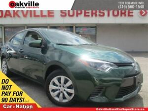2016 Toyota Corolla CE | ACCIDENT FREE | B/U CAM | BLUETOOTH |