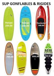 Stand up Paddle board,SUP,Planche surf à Pagaie en Rabais!! 299$