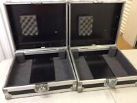 Two Turntable carry cases