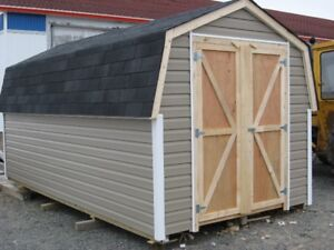 8X16 SHED ( plywood sheeting)