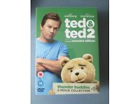 Ted & Ted2 DVDs - 2 - Movie Collection