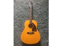 Epiphone Texan Inspired by 1964 Electro Acoustic. Mint!