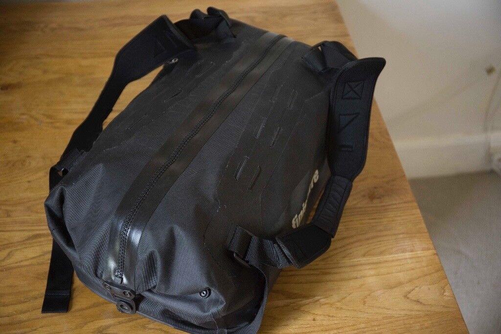 Waterproof 40L Black Duffle Travel Bag | Finisterre