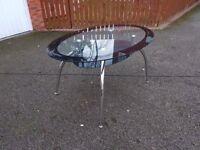 Oval Glass Dining Table FREE DELIVERY 506