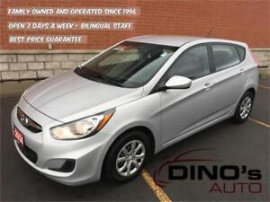 2014 Hyundai Accent GL | $44 Weekly $0 Down *OAC