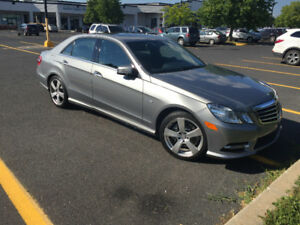 2012 Mercedes-Benz E300 4-Matic Sedan...45000km...MINT