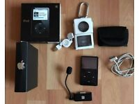 Ipod Classic 30gb with box, microphone, case and extras.