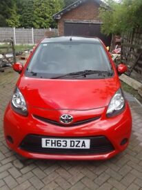 TOYOTA AYGO VVT-I 2014 FIVE DOOR HATCHBACK