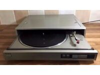 ONY PS-FL1 SERVO LOCK/FULLY AUTOMATIC STEREO TURNTABLE FAULTY