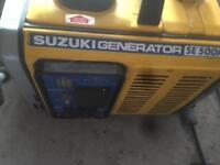 Suzuki generator se500a